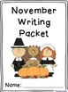 November Writing Prompts on Themed Paper {120 Differentiated Pages!}