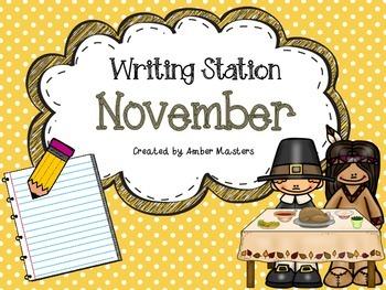 November Writing Station