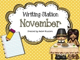 November Writing Station