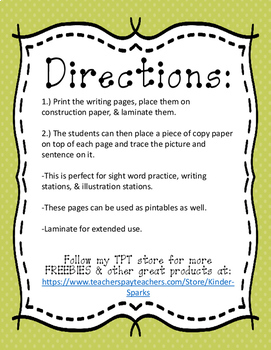 Thanksgiving Writing Station Activity