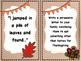November Writing Task Cards