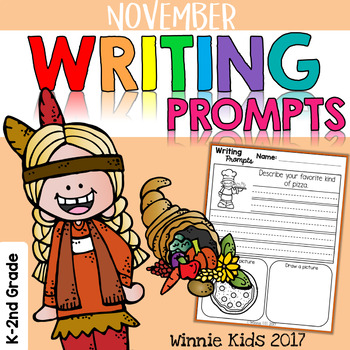 November Writing and Picture Prompts