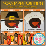 November Writing ... Simple Crafts, Graphic Organizers and