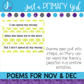 November and December Poetry