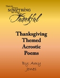 November and Thanksgiving Acrostic Poem Collection