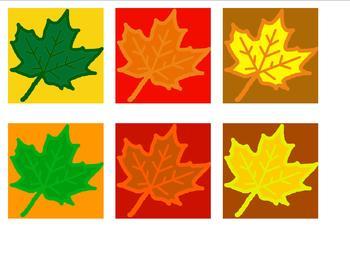 November calendar header, fall leaves