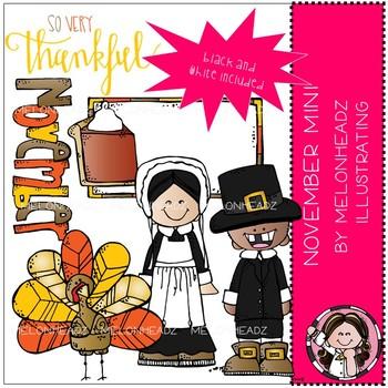 November clip art - Mini - by Melonheadz