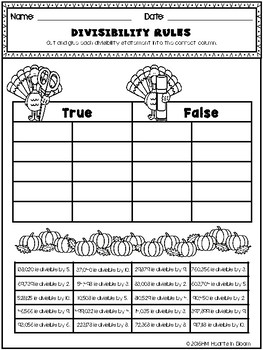 November in Fourth Grade (NO PREP Math and ELA Packet)
