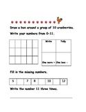 November math journal pages