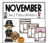 November newsletter freebie
