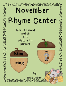 November rhyme