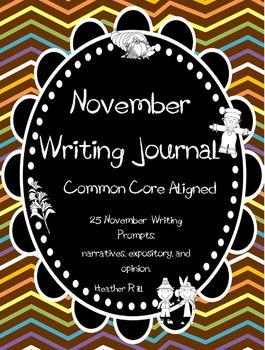 NovemberDailyWritingJournal