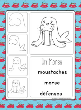 French Writing Prompts - Maternelle (novembre)