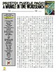 Novels - A Wrinkle in Time Puzzle Page (Wordsearch and Criss-Cross)