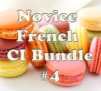 Novice CI French Bundle #4