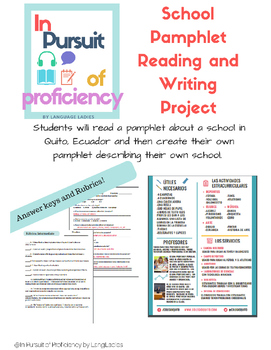 Novice and Intermediate School Reading and Writing Project (la escuela)