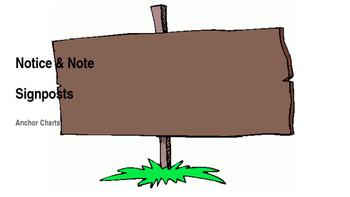 Novice and Note Sign posts