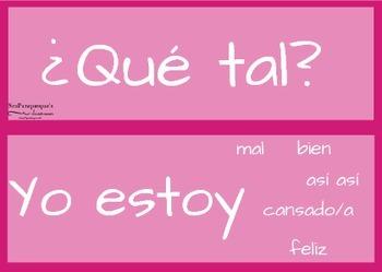 Novice or Spanish 1 Conversation Cards