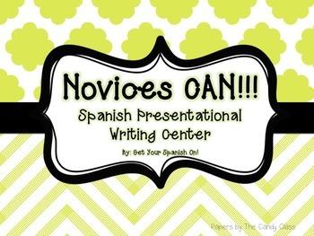 Novices Can! Spanish Presentational Writing Center