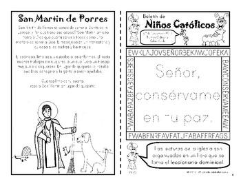 Noviembre 2017 Boletín para Niños Católicos