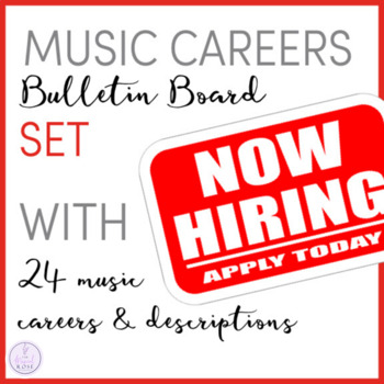 Now Hiring: Music Careers Bulletin Board