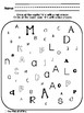 Now I Can Spot My ABC's (No-prep letter activities)