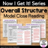Overall Structure RL.6.5 and RI.6.5 Close Reading Passages with Annotations