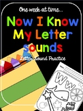 Now I Know MY Letter Sounds  (No-prep letter sound activities)