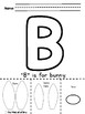 Now I Know My ABC's No-Prep Letter of the Week Packet