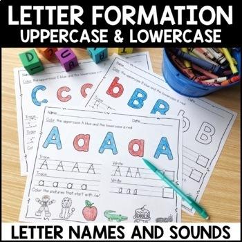 Alphabet Practice Pages | Alphabet Worksheets