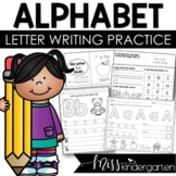 Alphabet Practice Pages • Letter Tracing and Handwriting W