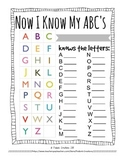 Now I Know My ABCs | Learning the Alphabet Recognition Mastery