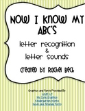 Now I Know My ABC's [Letter Recognition & Letter Sounds]