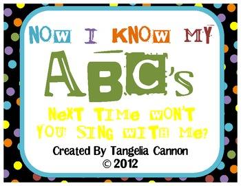 Now I Know My ABC's Phonics Packet