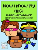 Now I Know My ABCs ~ Super Hero Edition