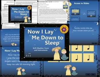 Now I Lay Me Down to Sleep: Orff, Rhythm, Form and Instruments