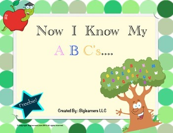 "Now I know My ""ABC's""!"