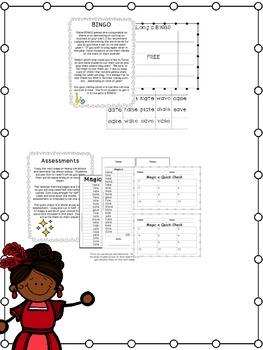 First Grade Phonics: Silent E