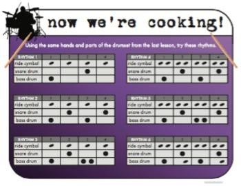 Now We're Cooking! (More Drum Rhythms)