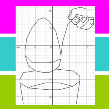 Easter Art - A Coordinate Graphing Activity