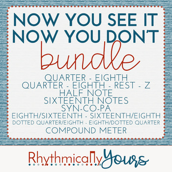 Now You See It....Now You Don't! - BUNDLE