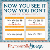 Rhythm Reading Activity Quarter Note Eighth Notes Quarter Rest