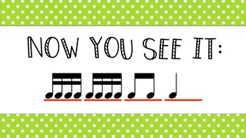 Now You See It, Now you Don't! - Sixteenth Notes