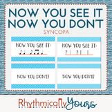 Now You See It, Now you Don't! - synCOpa Notes