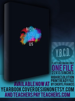 Now You See Us 2017 yearbook theme cover design
