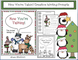 """Winter Writing: """"Now You're Talkin'!"""" 7 Creative Writing Prompts"""