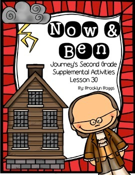 Now and Ben Journey's Activities - Second Grade Lesson 30