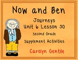 Now and Ben Journeys Unit 6 Lesson 30 2nd Grade Supplement Act.
