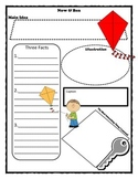 Now and Ben Story Map Graphic Organizer