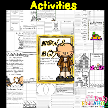 Now and Ben Supplement Activities 2nd Grade Lesson 30